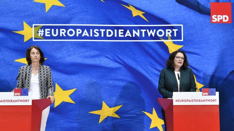 EU-Wahl: Debakel für Union und SPD - Grüne auf Platz zwei - AfD im Osten stark