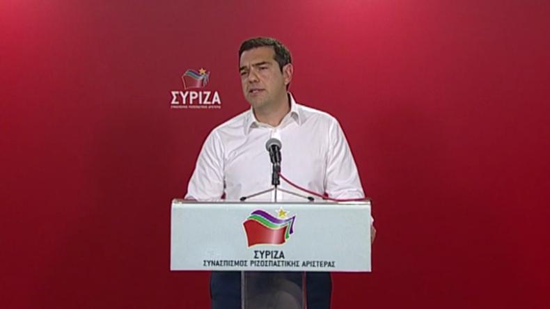 Griechenland: Ministerpräsident Tsipras kündigt angesichts EU-Wahlschlappe Neuwahlen an