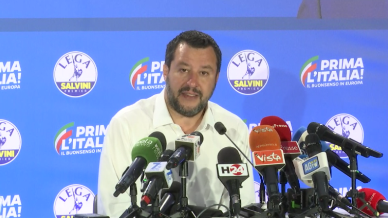 Italien: Lega-Partei siegt bei EU-Wahl  - Salvini will Europa zu seinen Wurzeln zurückführen