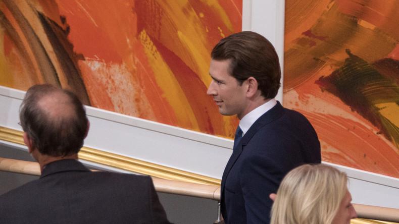 LIVE: Presseerklärung von Sebastian Kurz nach Verlust der Vertrauensfrage