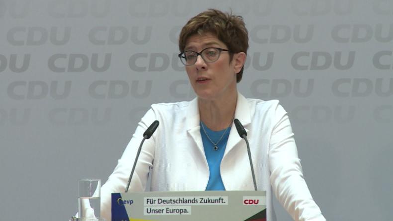 CDU-Vorsitzende reagiert auf Rezo-Video: Haben verpasst, die Jugend zu gewinnen