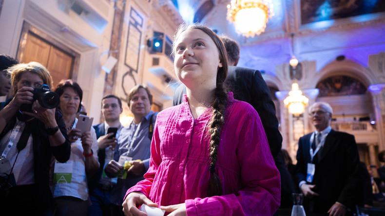 """""""Die Menschheit muss umdenken"""" – Greta Thunberg besucht Wien"""