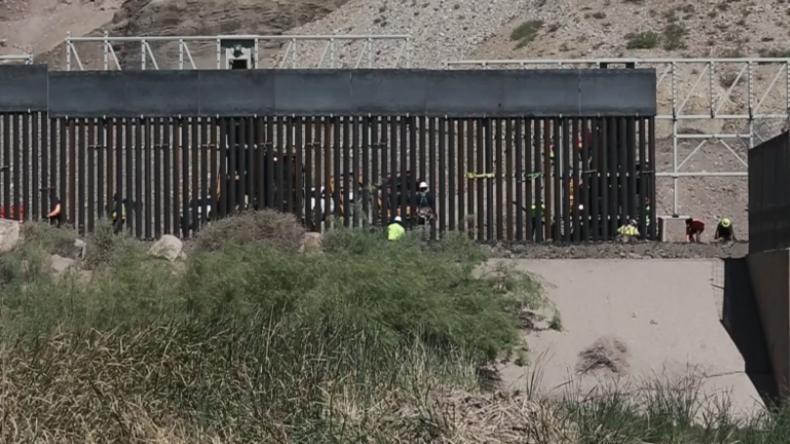 Unterstützer von Trumps Mauerplänen starten über Crowdfunding eigenen Mauerbau