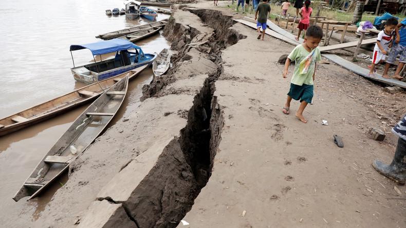 Peru: Beben der Stärke 8,0 hinterlässt Verwüstung - zwei Tote, über 300 Wohnhäuser unbewohnbar