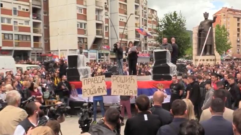 LIVE: Spannungen zwischen Kosovo und Serbien – Proteste in Mitrovica