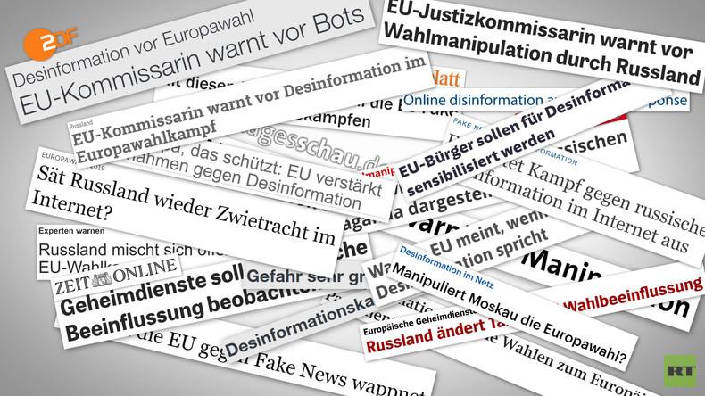 Ja, wo laufen sie denn? Keine Spur von russischer Einmischung bei EU-Wahl