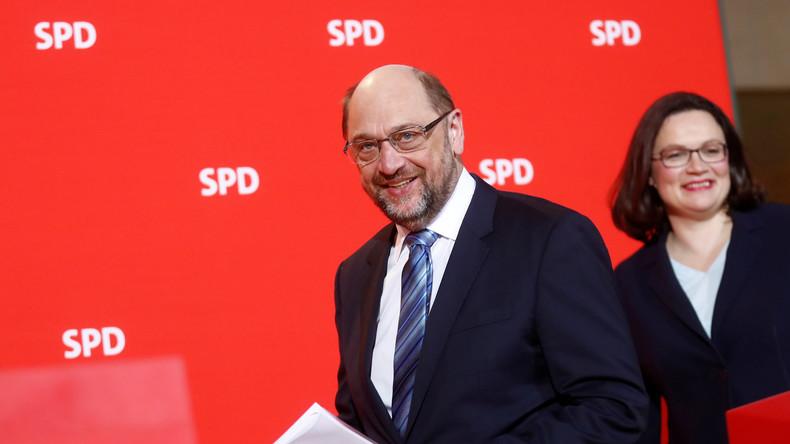 Medienberichte: Martin Schulz will nicht gegen Nahles antreten
