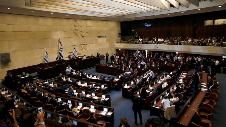 Israels Parlament stimmt für Auflösung und vorgezogene Wahl