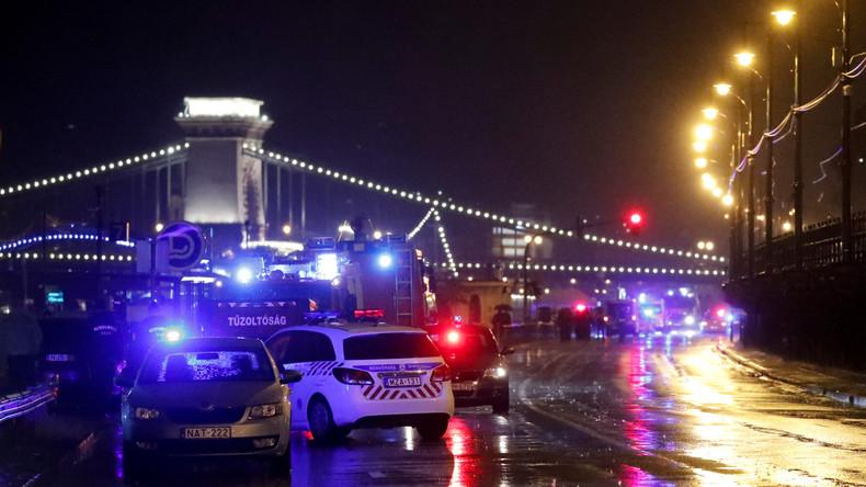 Sieben Tote bei Schiffsunglück auf Donau in Budapest