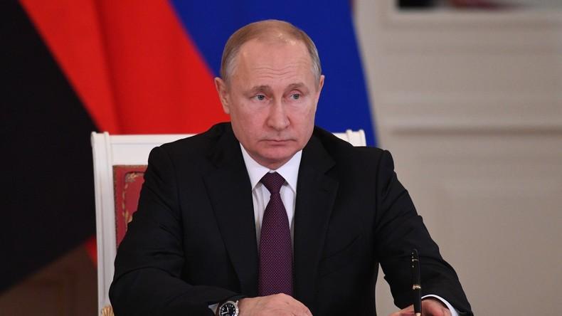 Putin bringt Gesetzentwurf zu Austritt aus INF-Vertrag ein