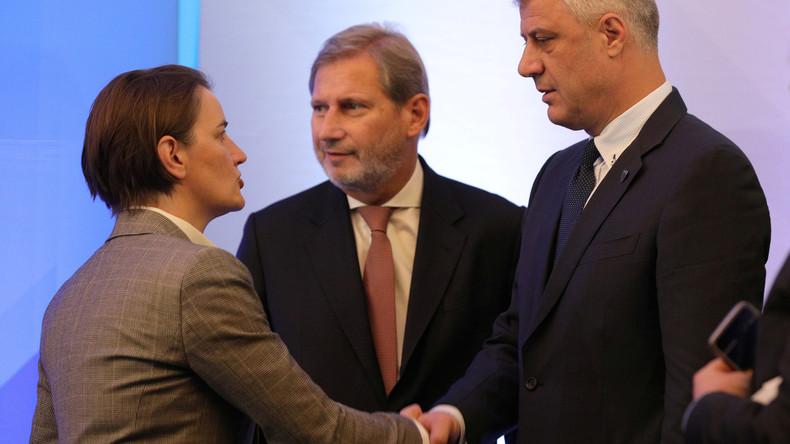 """""""Menschen aus dem Wald"""": Premierministerin Serbiens empört mit Aussage über Kosovo-Politiker"""