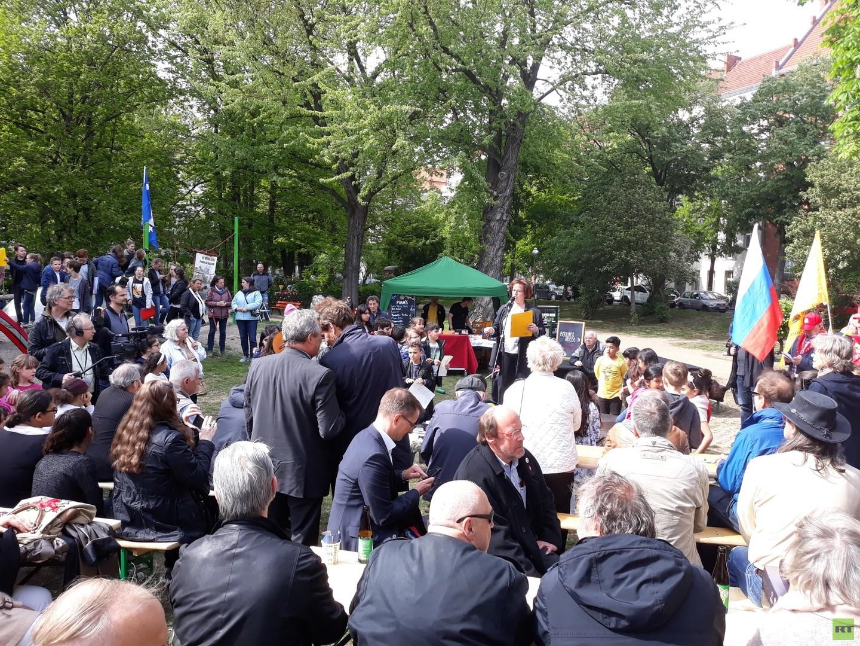 Genehmigt, aber nicht gewürdigt – Wie Berliner den Tag der Befreiung feierten