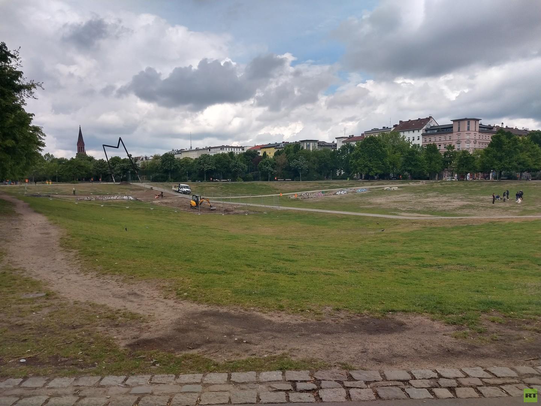 Dealer-Flächen im Berliner Drogen-Park: Verantwortlicher greift zu skurriler Maßnahme