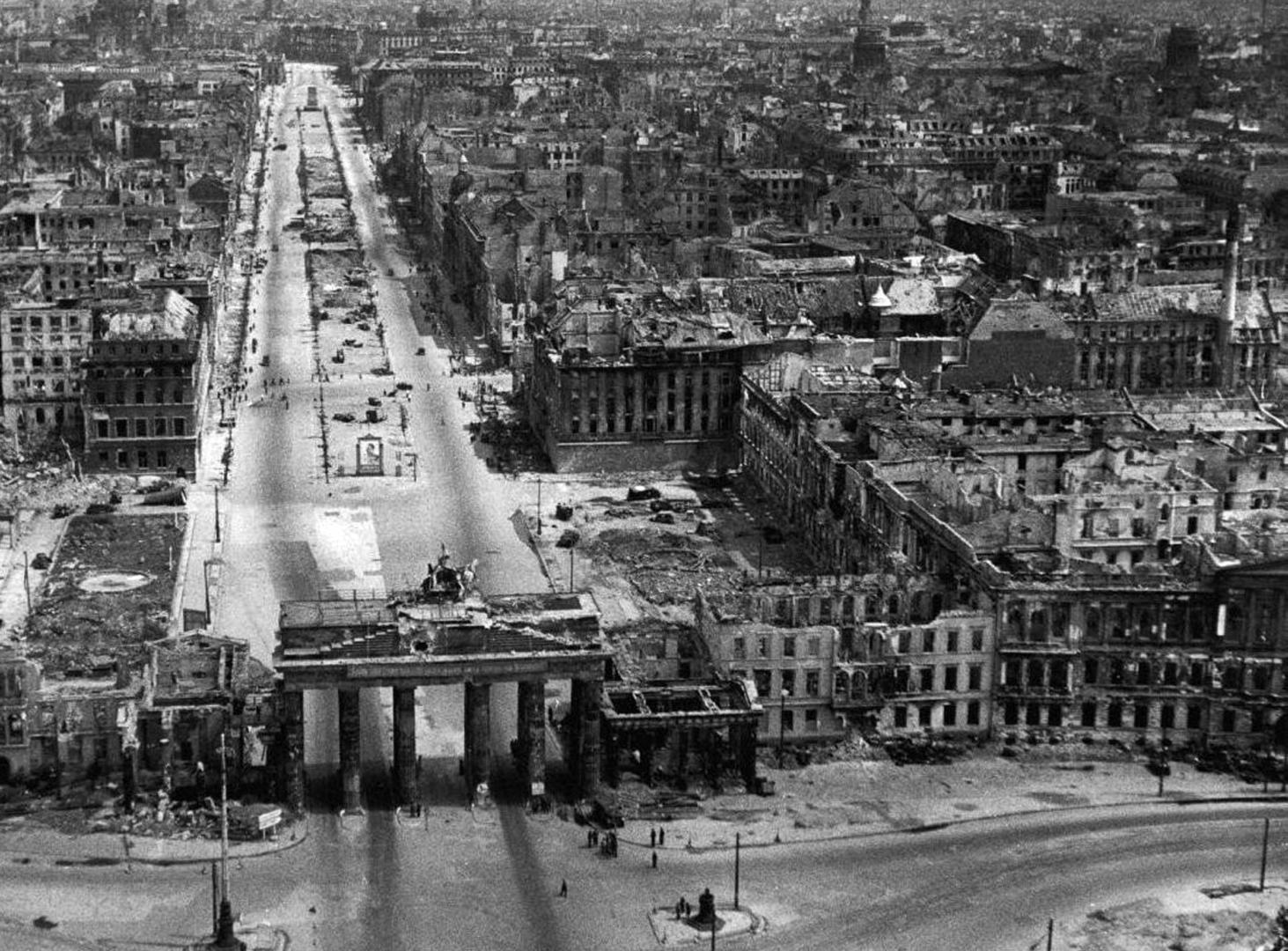 Zerstörtes Berlin