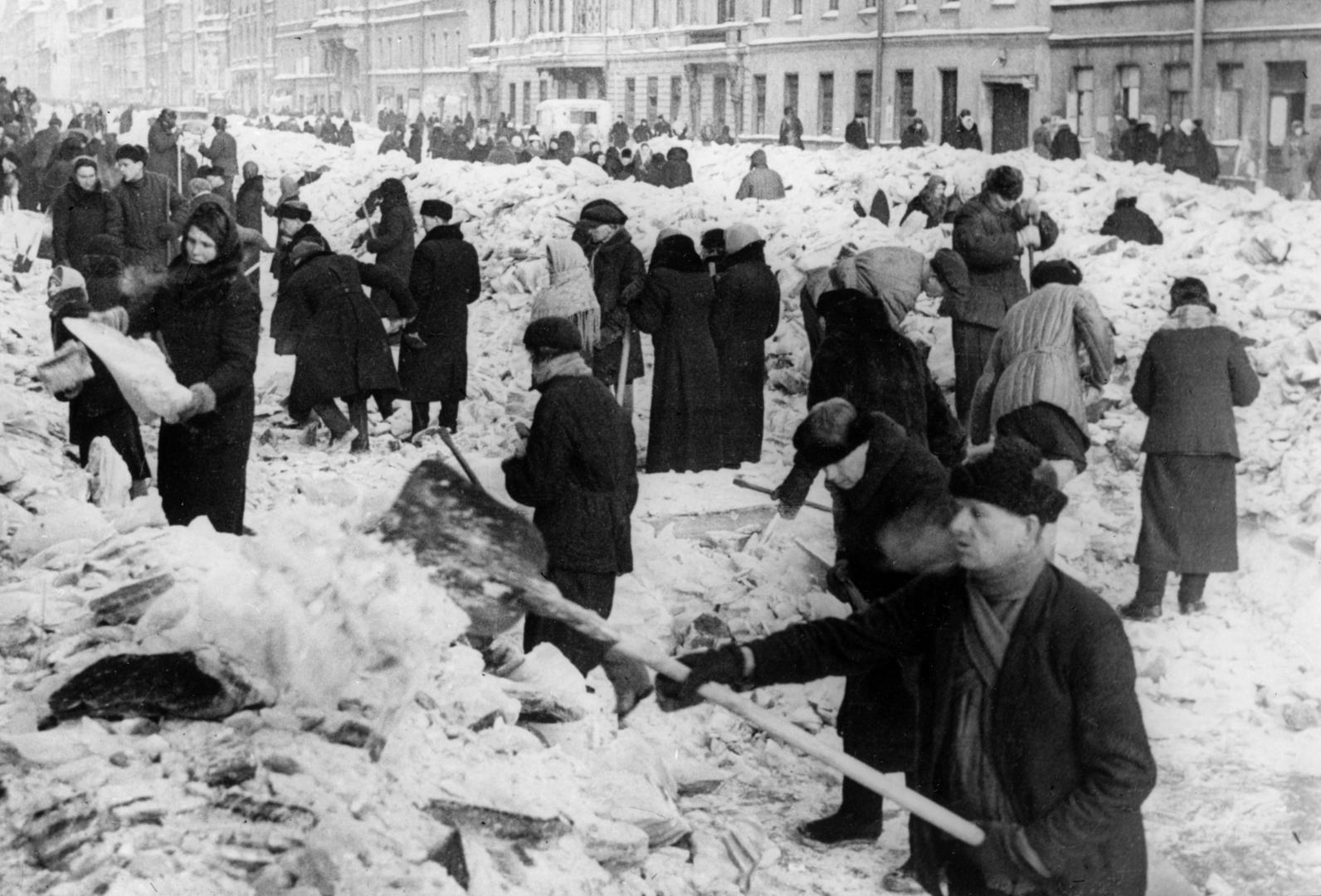 Leningrad während der Belagerung vom 8. September 1941 bis 27. Januar 1944