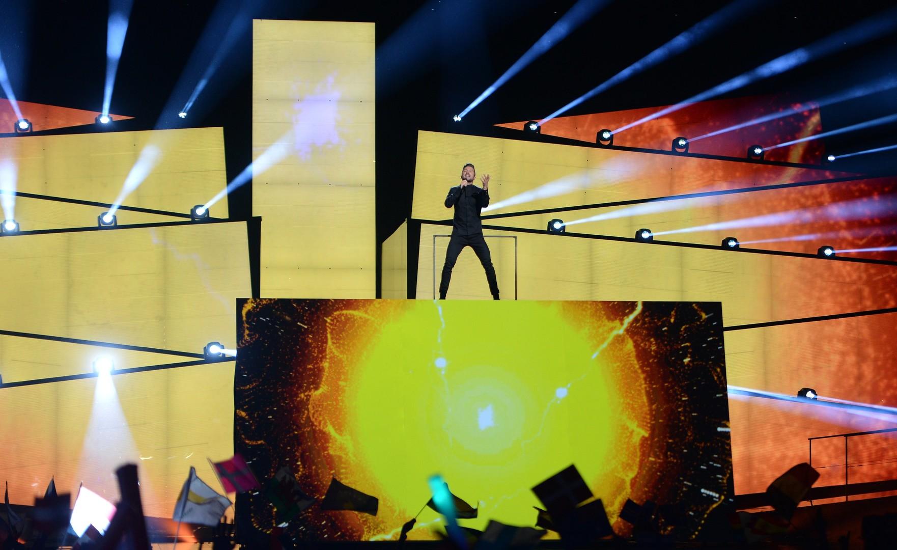 Sergej Lasarew singt für Russland beim Eurovision Song Contest