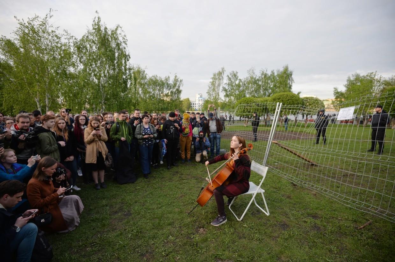 Russland: Festnahmen nach Protesten gegen Kirchenbau in Jekaterinburg