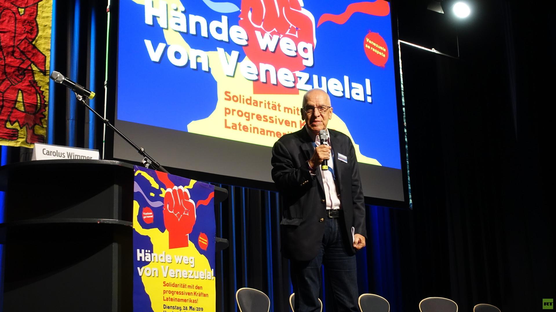 Hände weg von Venezuela: Gegenveranstaltung zum Maas-Lateinamerikagipfel