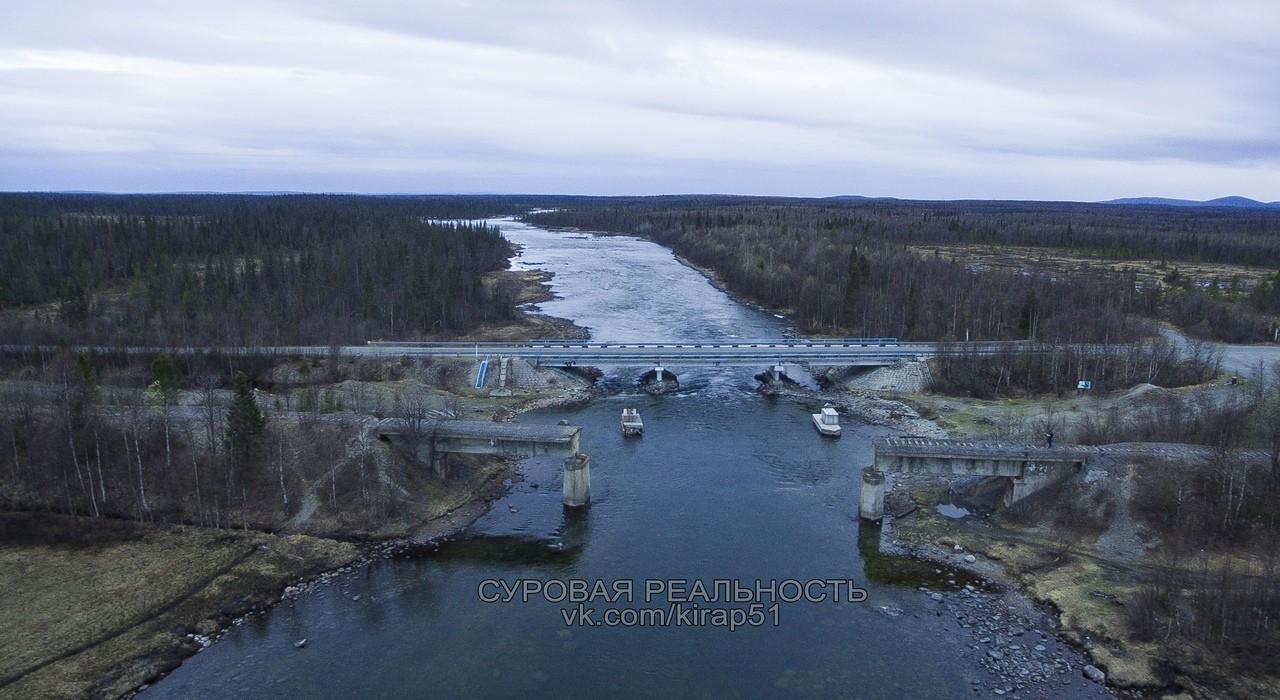 Spurlos verschwunden: Alte Eisenbahnbrücke in Nordrussland gestohlen