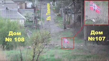 (Screenshot aus dem Video des Pressedienstes der Leitung der Volksmiliz der