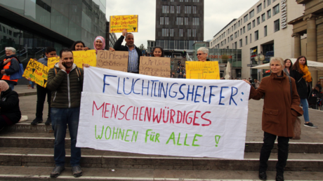 Demonstration in Stuttgart am 6. April 2019