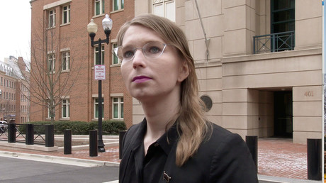 Chelsea Manning in Alexandria, Virginia, USA, 8. März 2019.