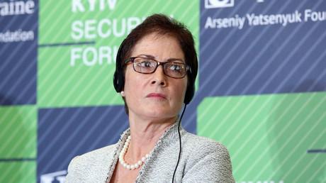 Die US-Botschafterin Marie L. Yovanovitch muss laut Medienberichten ihr Amt vorzeitig aufgeben.