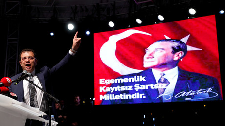 Istanbuls Bürgermeister Ekrem İmamoğlu wandte sich am 6. Mai an seine Anhänger und kritisierte die Entscheidung der Wahlbehörde, Bürgermeisterwahl erneut durchführen zu lassen.