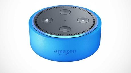Der Amazon Echo Dot Lautsprecher für Kids.