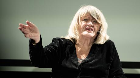 Alice Schwarzer im Februar 2019 in Bamberg