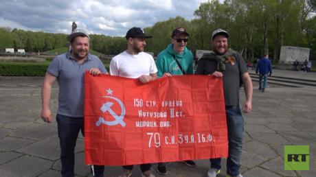 Das Mahnmal im Treptower Park von Berlin: Nicht nur Russen ist der 9. Mai heilig