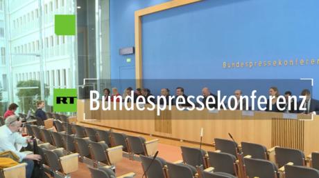 Bundespressekonferenz: Auswärtiges Amt und die Willkürlichkeit des Regime-Begriffs