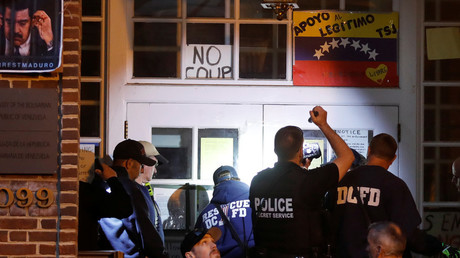 Die Washingtoner Polizei im Einsatz