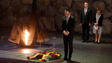 Heiko Maas in der Holocaust-Gedenkstätte Yad Vashem, 28. März 2018