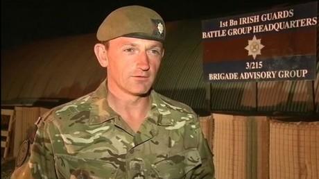 Der stellvertretende OIR-Kommandeur, der britische General Chris Ghika.