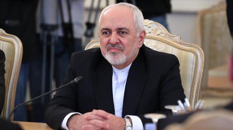 Der iranische Außenminister Dschawad Sarif (Moskau, 8. Mai 2019).