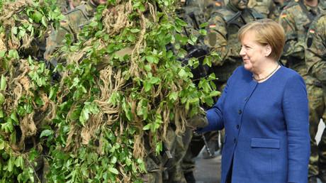 Kein Waldspaziergang, nur ein Besuch bei der Bundeswehr