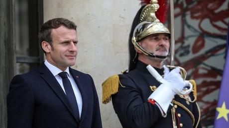 Emmanuel Macron sieht sich als Kämpfer in der
