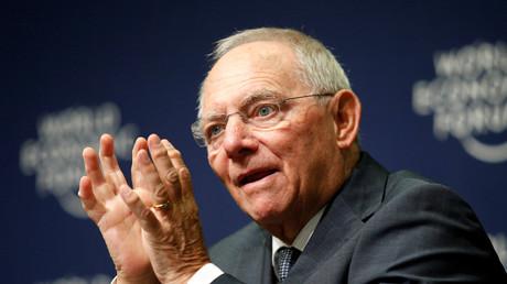 Wolfgang Schäuble beim Weltwirtschaftsforum, Durban, Südafrika, 4. Mai 2017.