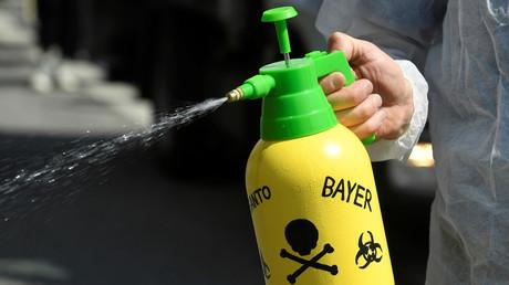 Demonstration gegen Monsanto, Hamburg, Deutschland, 18. Mai 2019.