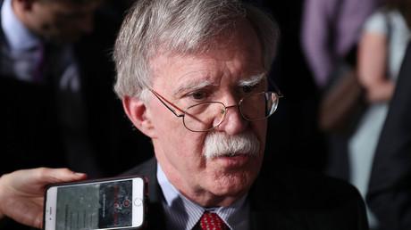 Fehlerhaftes Produkt? John Bolton im Februar 2019 in Florida