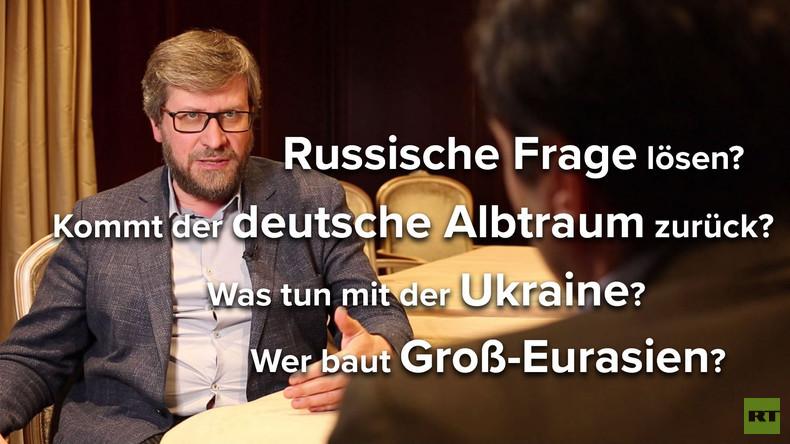"""""""Die deutschen Politiker nach Merkel beneide ich nicht"""" - Der Politologe Fjodor Lukjanow im Gespräch"""