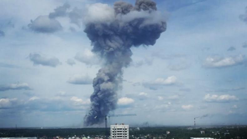 Dserschinsk: Mehrere Verletzte nach Explosionen in Anlage zur TNT-Produktion