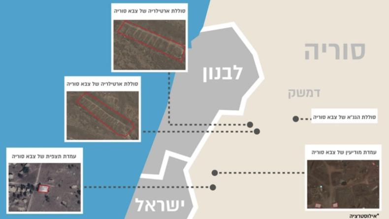 Israels Armee greift mehrere Ziele in Syrien an