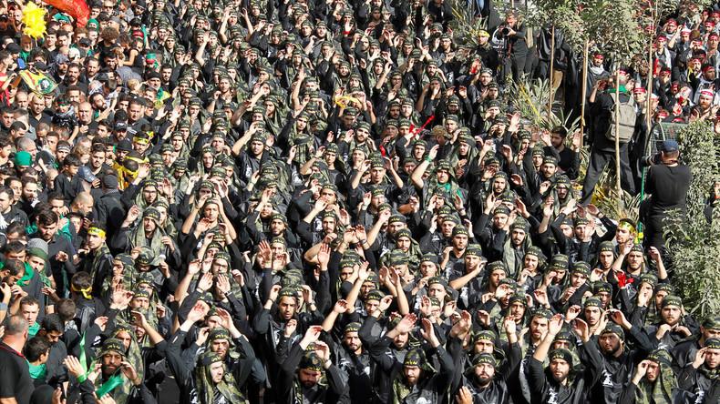 """Hisbollah drohen USA, Saudi-Arabien und Israel bei Angriff auf Iran mit """"Vernichtung"""""""