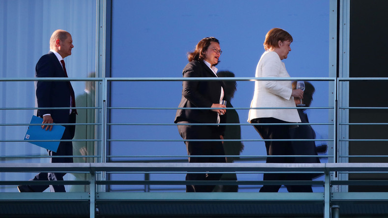 Nach Rücktrittserklärung von Andrea Nahles: CDU-Führung steht weiter zu Regierungsauftrag