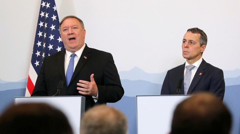 """US-Außenminister in der Schweiz: Fast """"bedingungslose Gesprächsbereitschaft"""" mit Iran"""
