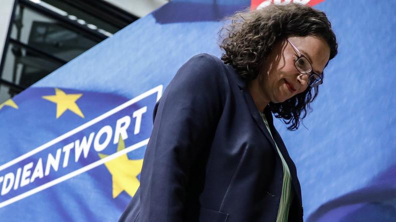 Rücktritt von Andrea Nahles stürzt SPD ins Chaos - Suche nach neuer Parteiführung beginnt