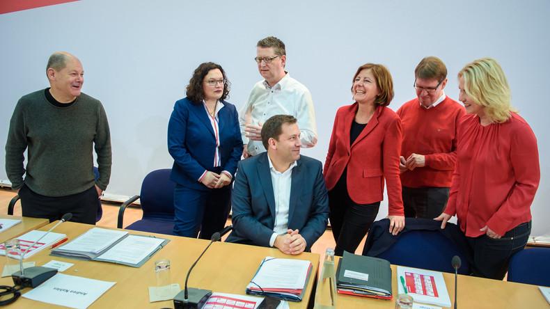 Nach Nahles-Rücktritt: SPD soll kommissarisch von Schwesig, Dreyer und Schäfer-Gümbel geführt werden