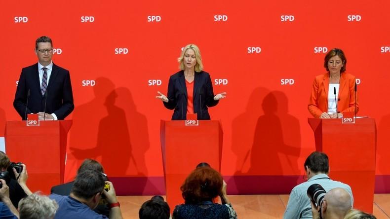 Nach Rücktritt von Andrea Nahles – SPD-Spitzen geben Erklärung ab